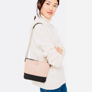 KATE SPADE ♠️ NY LEATHER JACKSON STREET ELLERY BAG